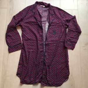 🔥4/$20🔥 EUC VS Flannel Button Down Sleep Shirt
